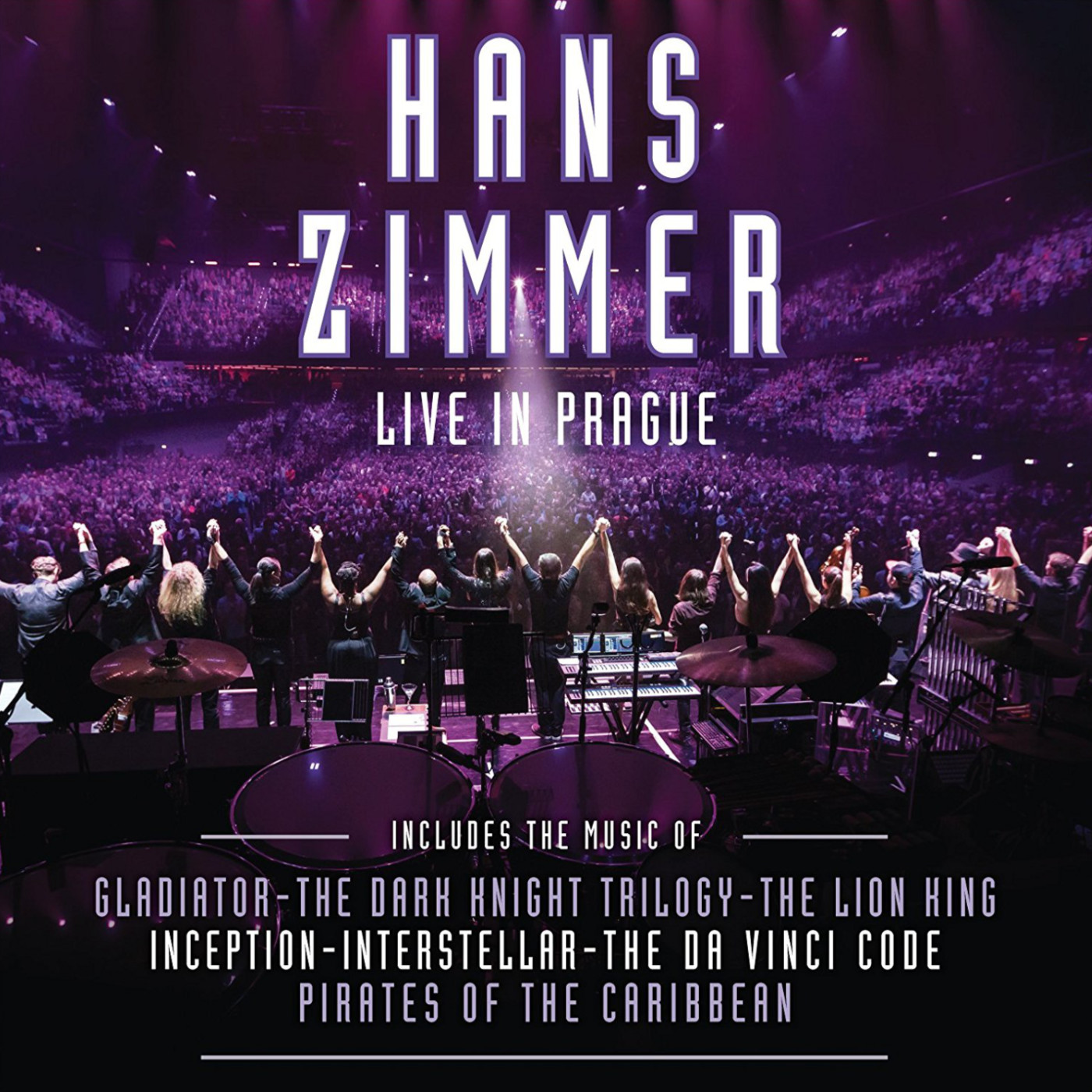 Cover of Hans Zimmer – Live in Prague - Hans Zimmer – Live in Prague