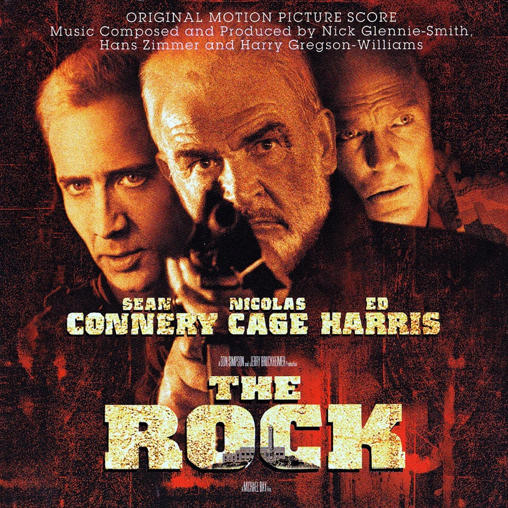 Cover of The Rock - Original Motion Picture Score
