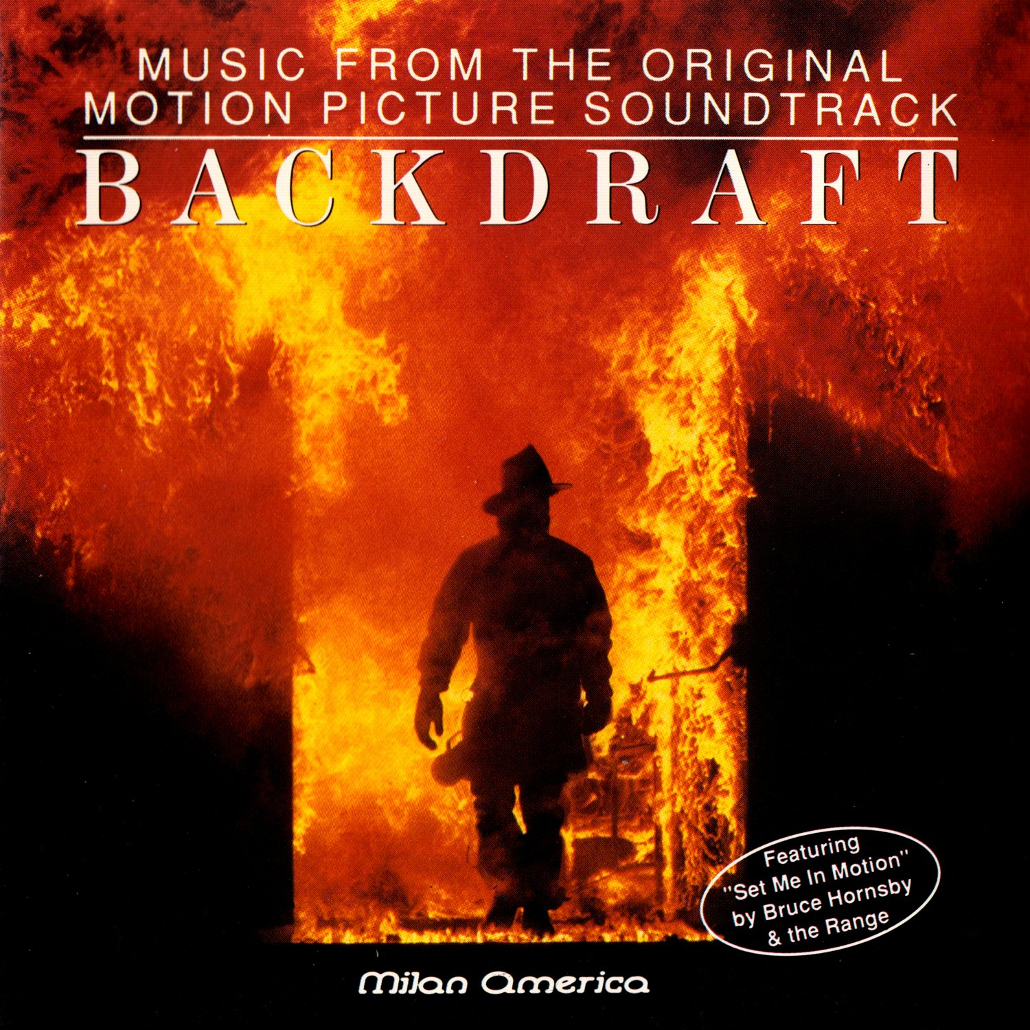 Cover of Backdraft - Music From The Original Motion Picture Soundtrack