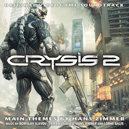 Cover of Crysis 2 - Original Videogame Soundtrack