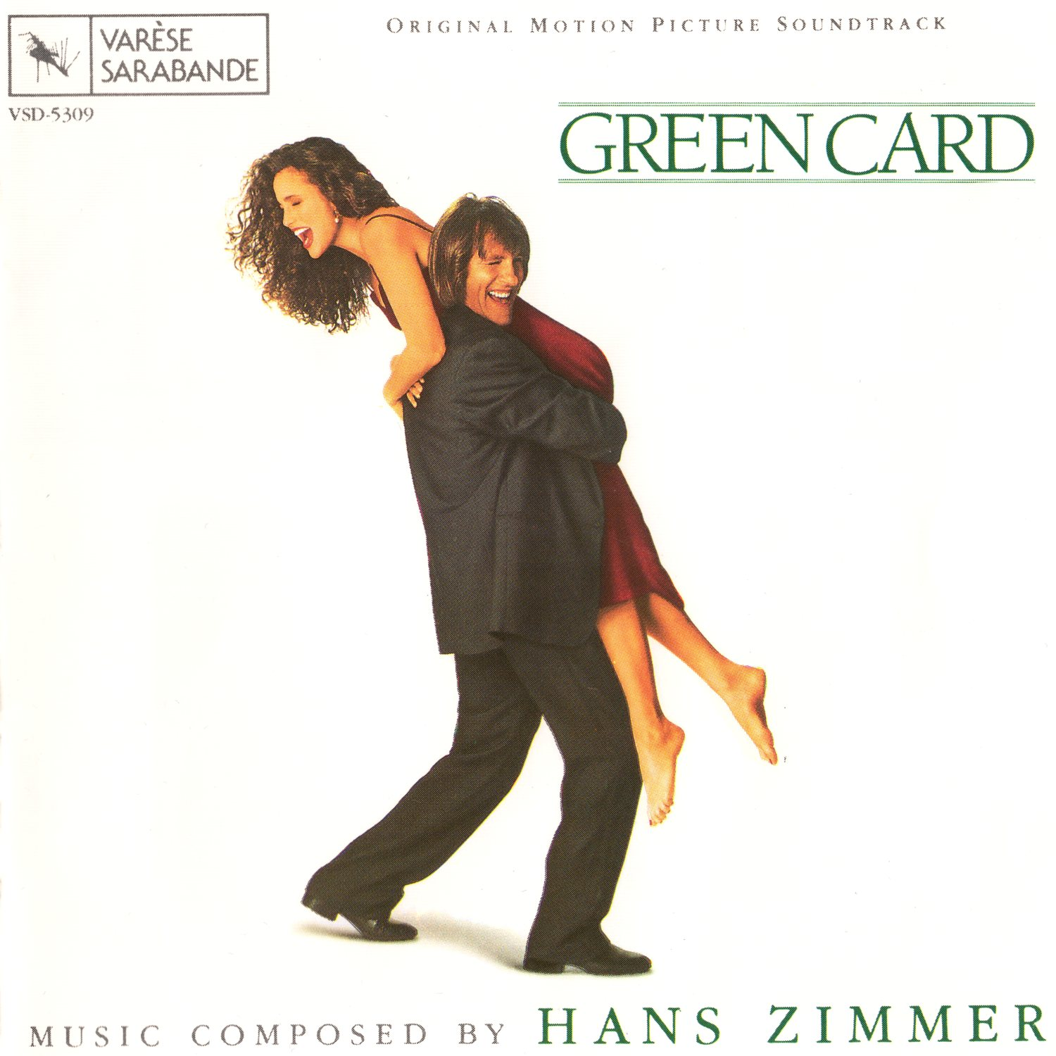 Cover of Green Card - Original Motion Picture Soundtrack