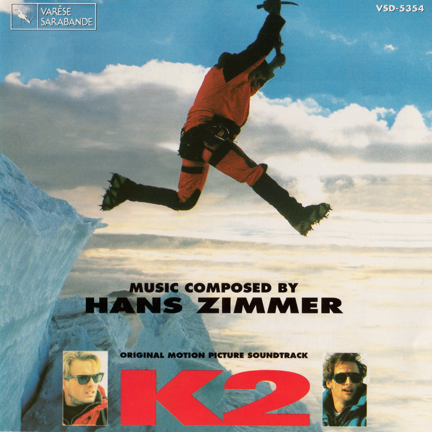 Cover of K2 - Original Motion Picture Soundtrack (European Version)