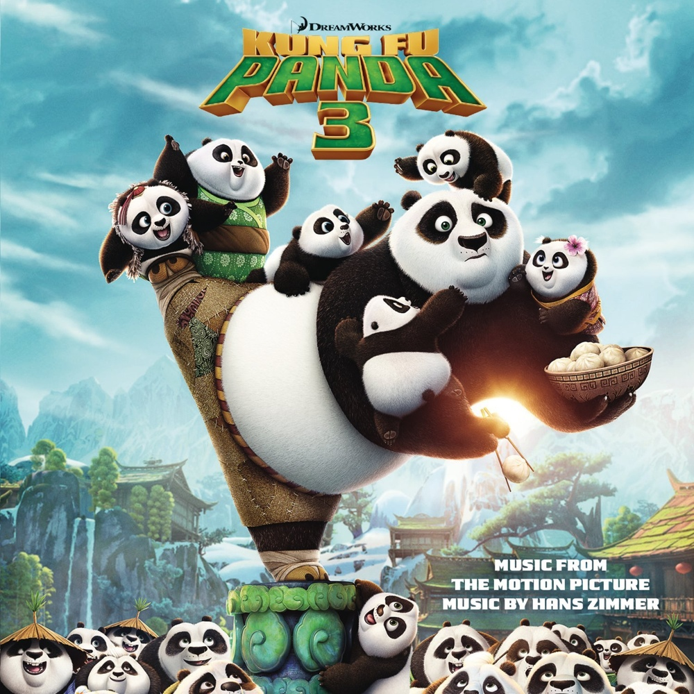 Cover of Kung Fu Panda 3 - Music From the Motion Picture
