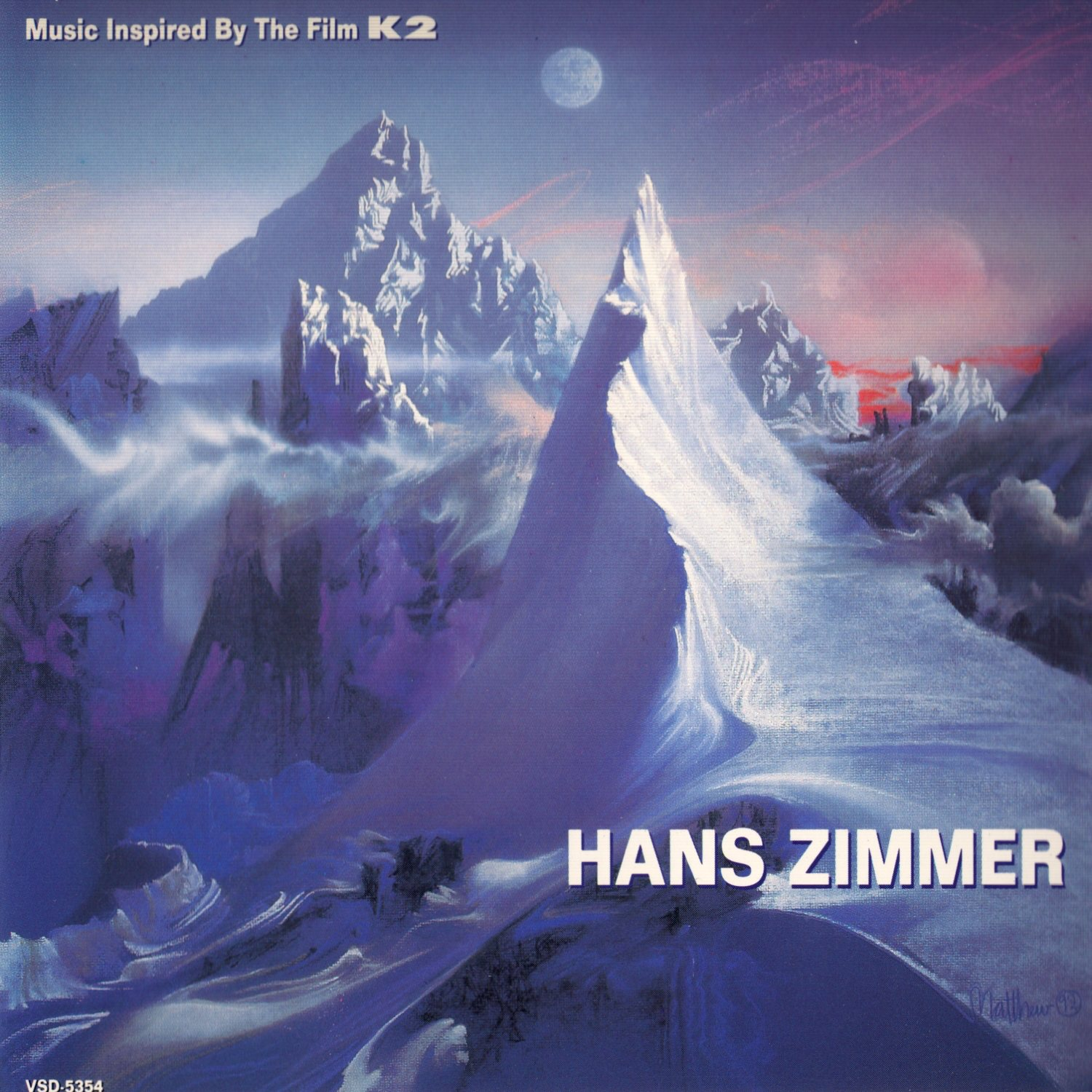 Cover of Music Inspired by the Film K2 - Music Inspired by the Film K2