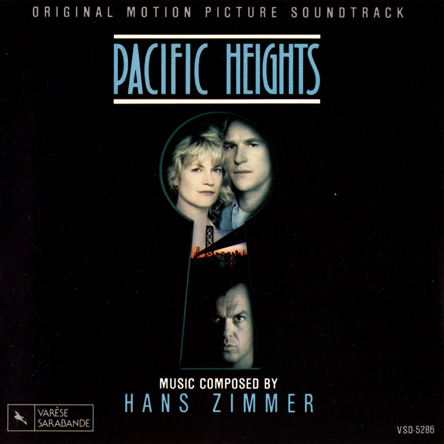Cover of Pacific Heights - Original Motion Picture Soundtrack