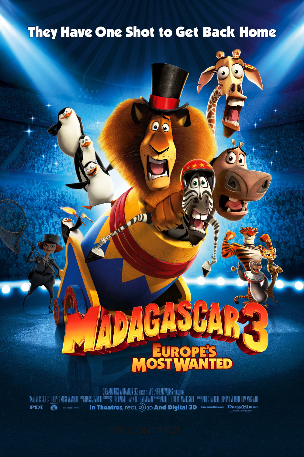 Madagascar 3 - Europe's Most Wanted